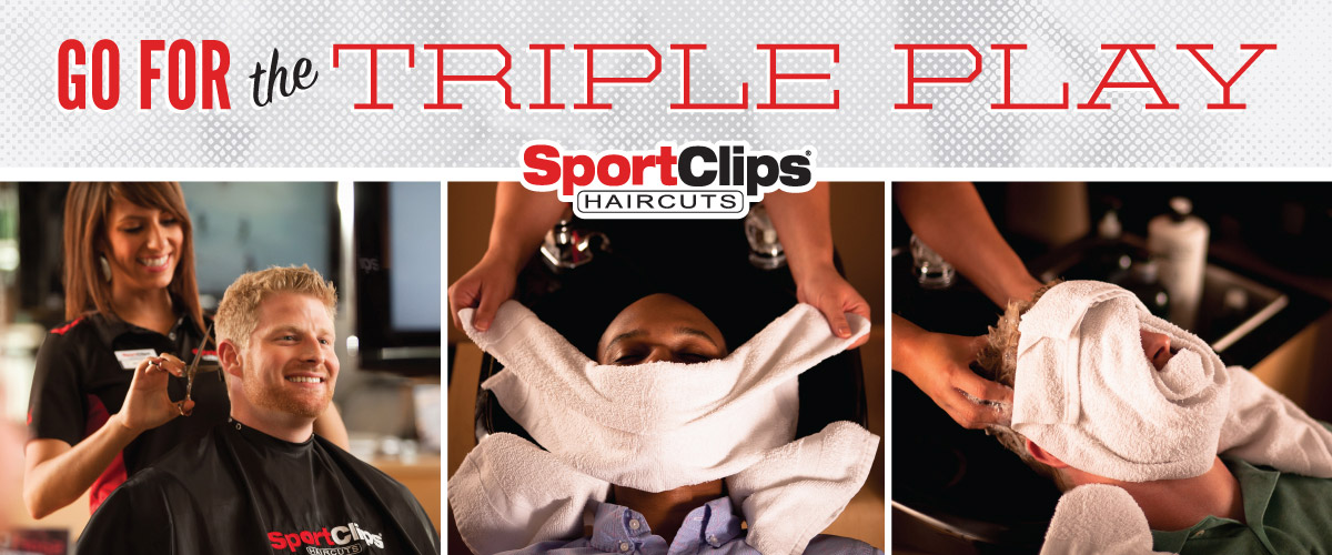 The Sport Clips Haircuts of Grand Forks  Triple Play
